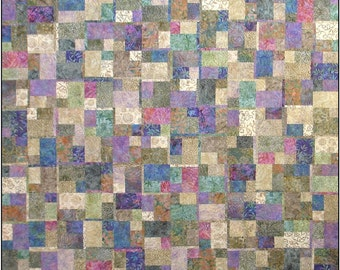Log On  Quilt pattern by Janine Burke