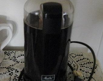 Vintage Coffee Bean Grinder,Melitta Electric Coffee Bean Grinder, Electric Grinder