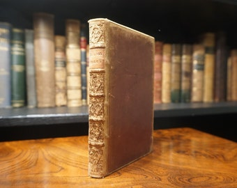 1814 The Poetical Works of Robert Burns, Antiquarian Book
