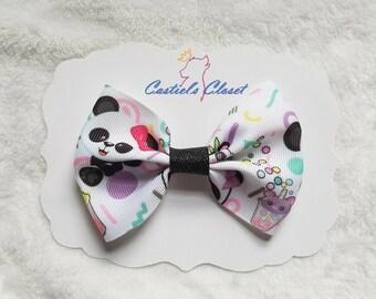 Panda Party Bow