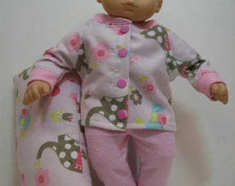 Bitty Baby Jammies and Pillow