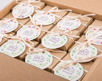 Pack of 24 herbs seed bombs favors