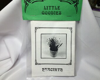 "Dollhouse Miniature Blue Hyacinth 1"" Scale Kit by Little Goodies"