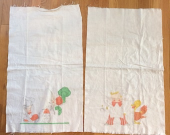Vintage Tinted Vogart Towels