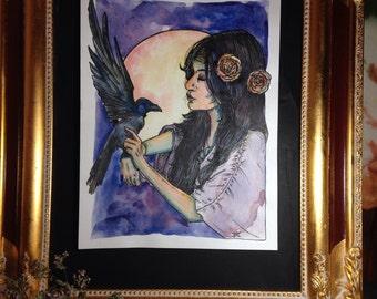 Sister Raven (print)