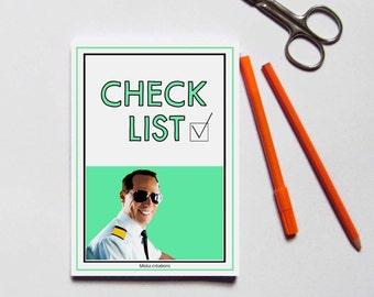 Check list/To do list