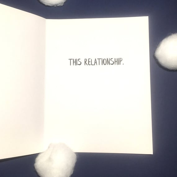 Long Distance Relationship Card Funny Valentine Card