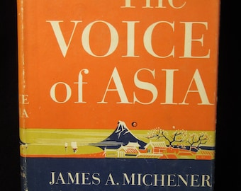 Vintage 1951 The Voice of Asia by James A Michener in Very Good Condition
