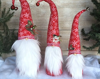 Christmas Gnome, Scandinavian Gnome, Nordic Gnome, Christmas Decoration, Christmas Decor, Tomte, Nisse, Swedish Gnome, Christmas Gift, Gift