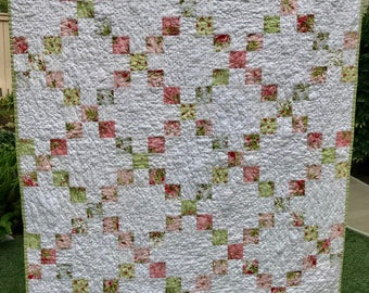 Quilted, Hand Crafted Quilt-Bedding-Home Furnishings-One of a Kind