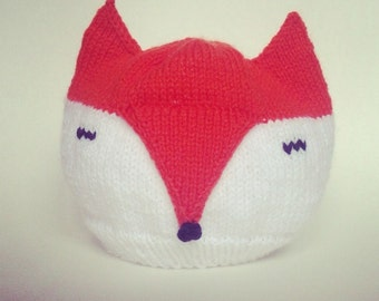 Foxy Fox Hat and Wolf Hat, Knitting Pattern, Animal Hat, Fantasy Hat, PDF Pattern, Beautiful Creatures