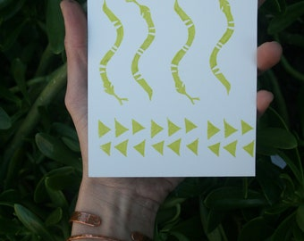 Snake Sisters Print