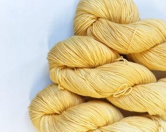 4ply Superwash Merino/Cotton - Buttermilk