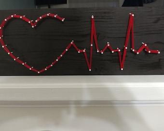 Medical field string art
