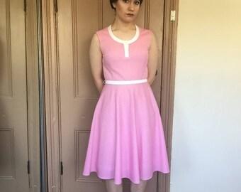 Lovely Pink Vintage Dress
