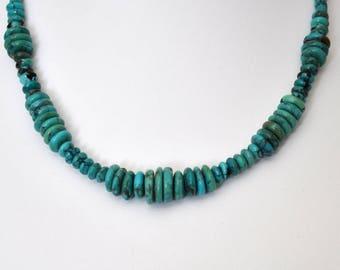 Turquoise Artesian Beaded Necklace