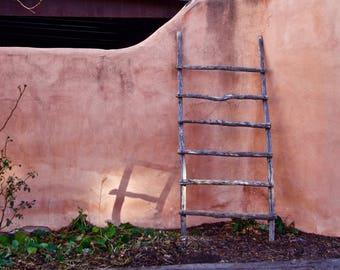 Ladder in Albuquerque. New Mexico. USA