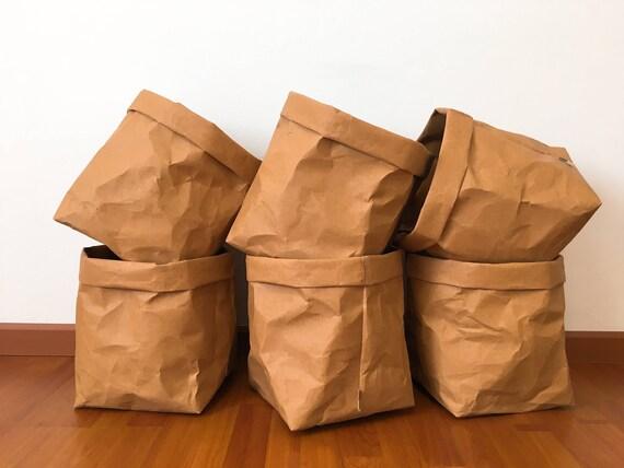 Storage Basket No.10 : Kraft Paper Storage /Kitchen Basket
