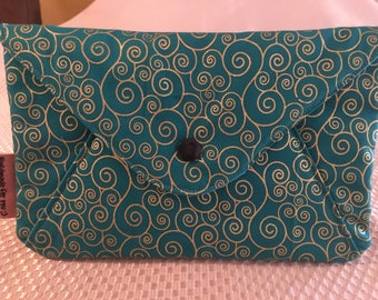 Pouch - envelope shape with snap fastener