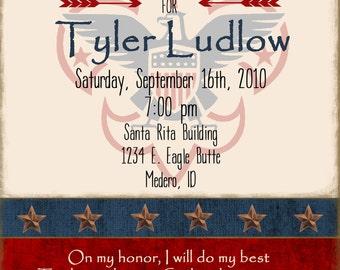 Eagle Scout PRINTABLE Announcement