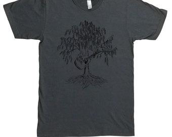 Guitar T Shirt for Men - Music Lovers Gift - Acoustic Guitar Tshirt - Guitarist Gift - Country Music Shirt - Bluegrass Tshirt - Tree Tees