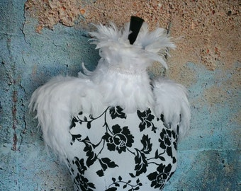 White Malificant Ice queen feather set, corset a d epaulette set