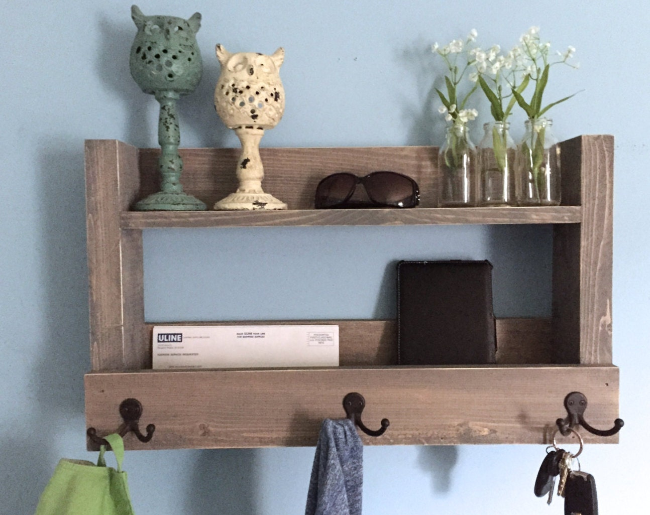shelf of featured wall mounted bench hooks with types entryway shelves and