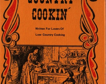 Country Cookin' + Katharine Weiler + 1970 + Vintage Cook Book