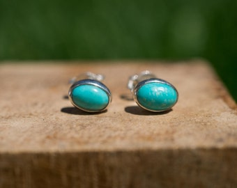 Gorgeous Turquoise Stud Earrings