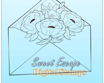 Envelope Digital Stamp