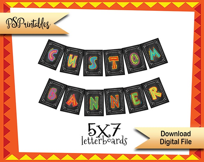 DIY Printable FIESTA Sign Custom Fiesta banner, Cinco de Mayo banner, Birthday Banner, Wedding banner, Fiesta party decor fiesta party signs