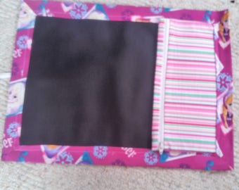 Child's Chalkboard Placemat to entertain for hours.