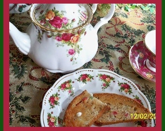 Christmas Bread Recipe/Old Fashioned Christmas Bread Recipe from Grandma and Grandpa