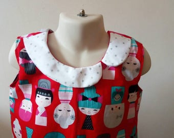 Kokeshi dolls dress 5 years old
