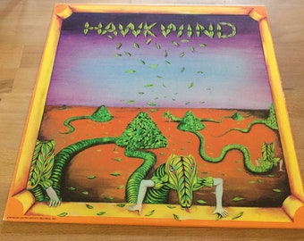 Hawkwind Debut on UA Records Historic First Space Rock lp original 1970
