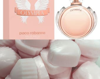 Designer and luxury highly scented wax melts in Paco Olympea