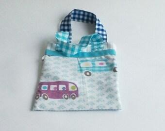 Baby Bag light blue car