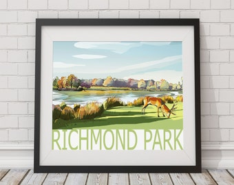 Richmond Park Print