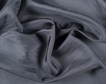 "45"" Wide 100% Silk Habotai Gray-Wholesale by the Yard (2000M192)"