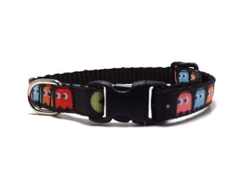 The Pac Man   Cat Collar with Bell