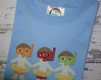 Paperdoll Swimmers Little Boy Swimmers Shirt