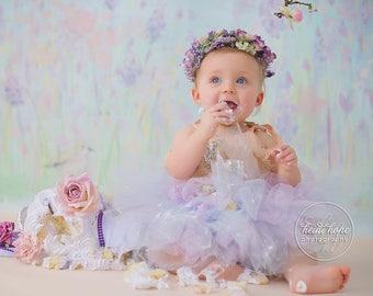 Lavender Birthday Tutu   Fairy Birthday Tutu