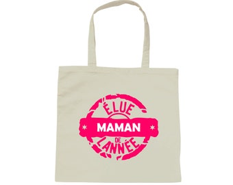 Tote bag white bag one mother of the year