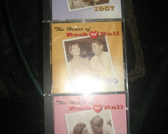 Heart of Rock n Roll 1957, 1960 & 1962 Three Cds Music