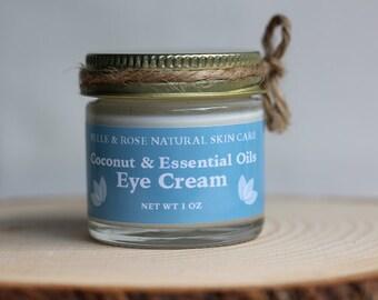 Organic Coconut and Essential Oils  Eye Cream