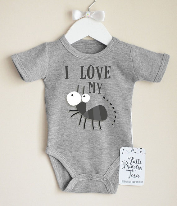 I Love My Aunt Infant Baby Shirt Funny Baby Clothes Cute