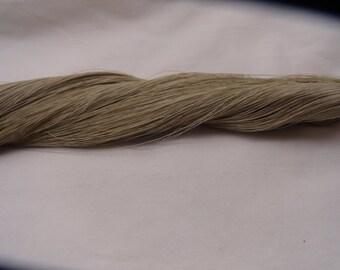 Gray Tan Urushi Lacquered Thread