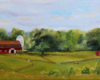 Giclée Print The view from Ballina Farm