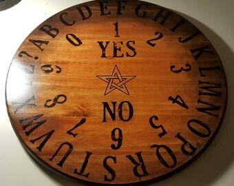 Handmade Wooden Spirit Board