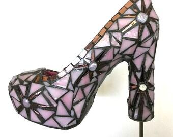 Pink Mosaic Shoe